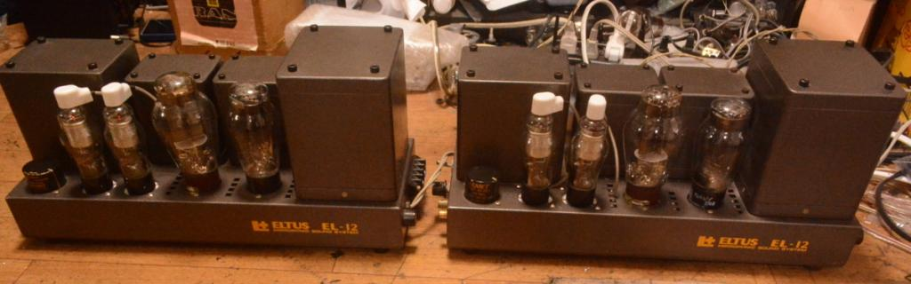 ELTUS EL-12 300B SE power amplifier Western Electric 91B type