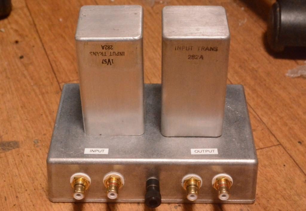 EXTRA RARE !!! Western Electric 282A line, step up transformer step up ratio 1:20