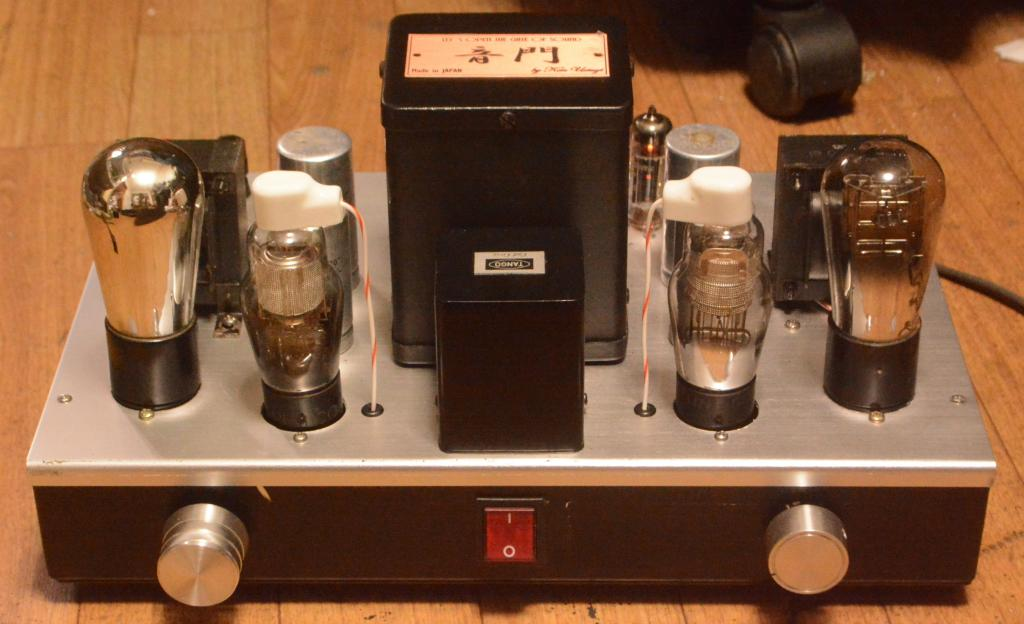 71A tube stereo preamp, booster, amplifier 77/78 tube drive * PHILIPS transformer 110/120/230V
