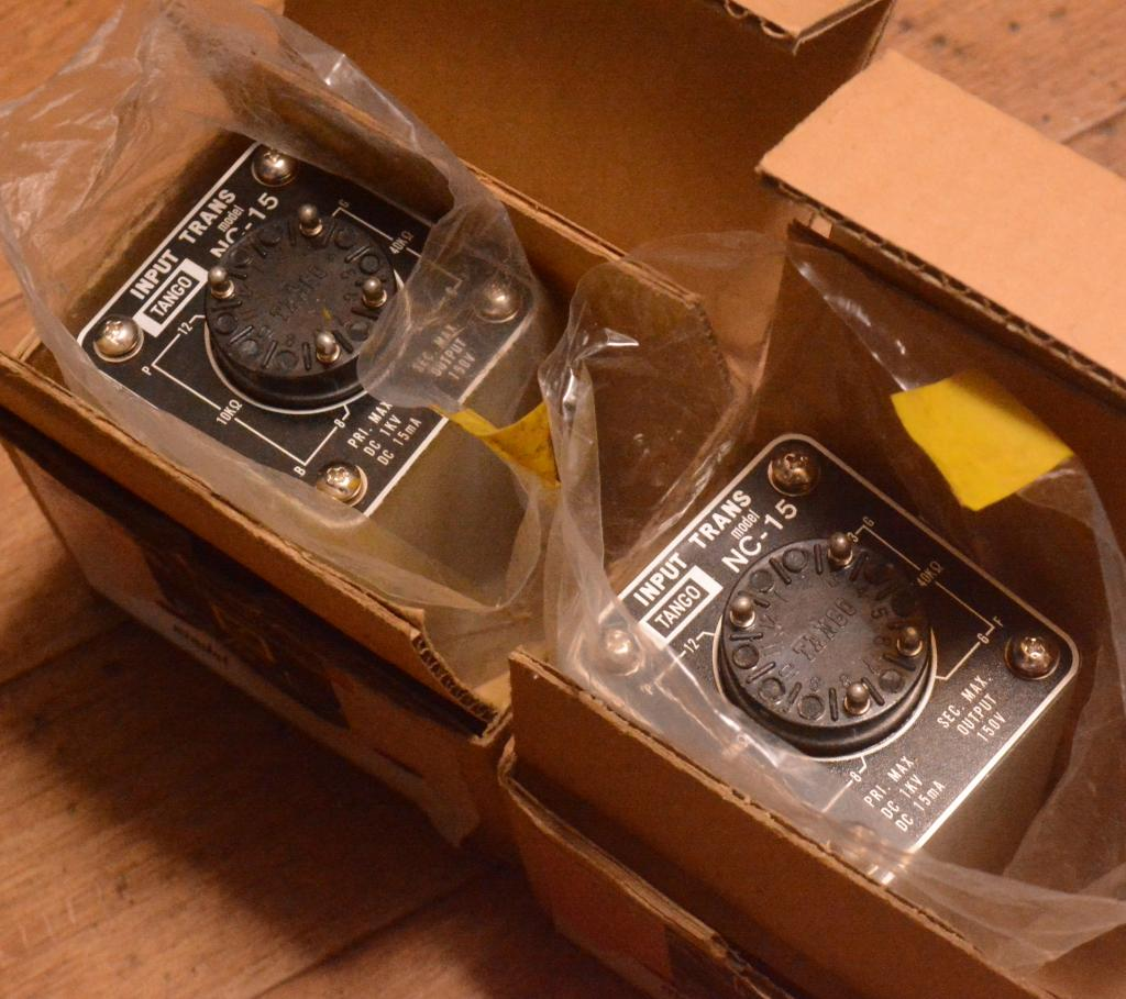 New old stock Hirata TANGO NC-15 interstage transformer for 300B, PX-25 tube amp