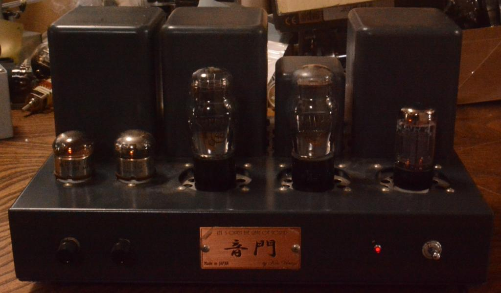 45 SE tube amplifier 717A tube drive with All TAMURA transformer, no tubes include * Perfect sound !
