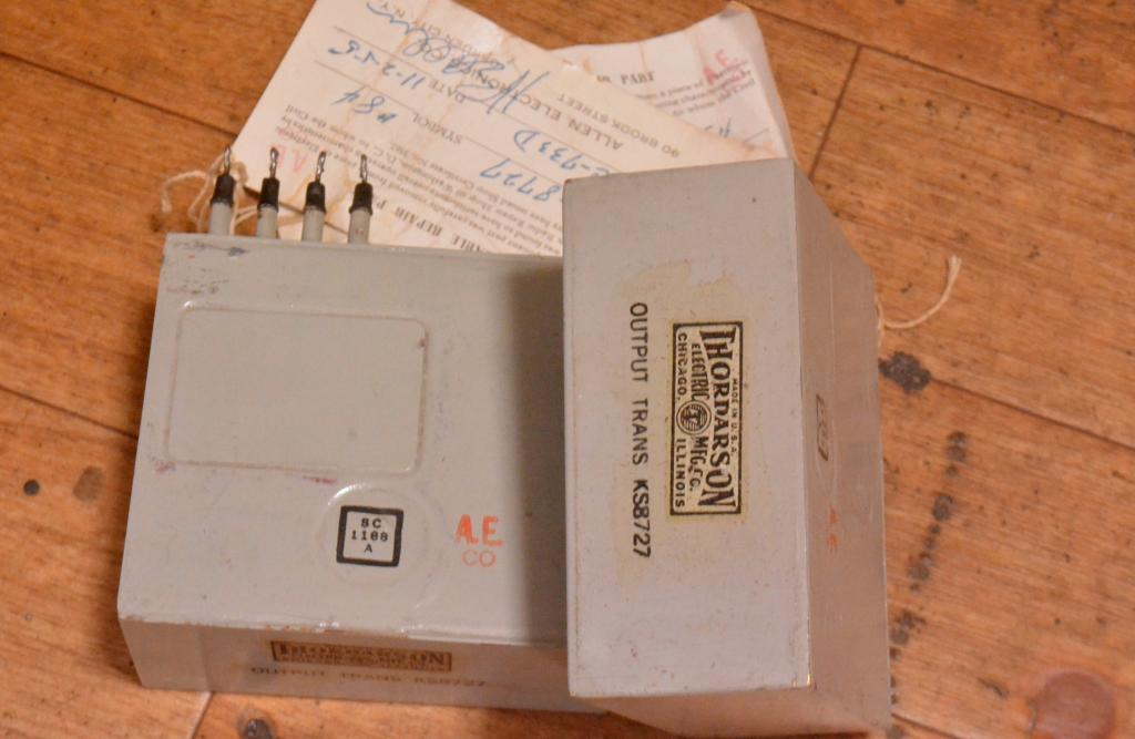 EXTRA RARE !!! New Old Stock 50s year Western Electric KS-8727 output transformer