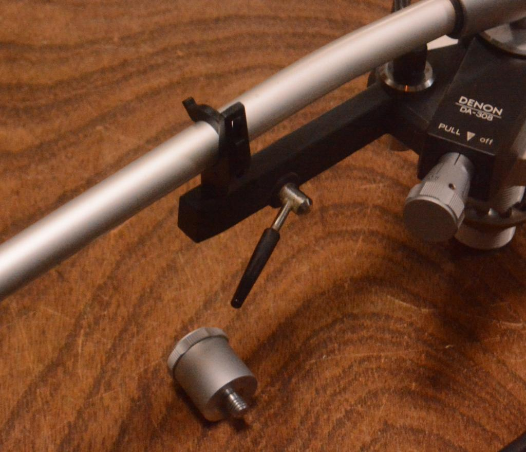 Denon DA-308 12inches  long tonearm for professional with cable, sub weight