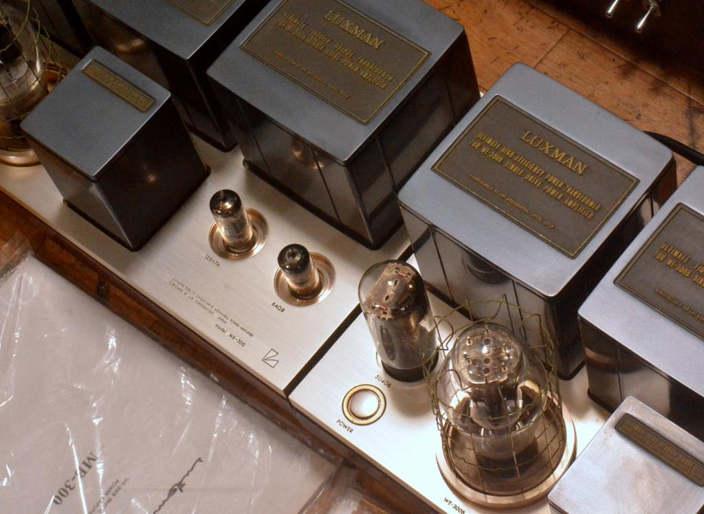 Luxman MB-300 tube amplifier