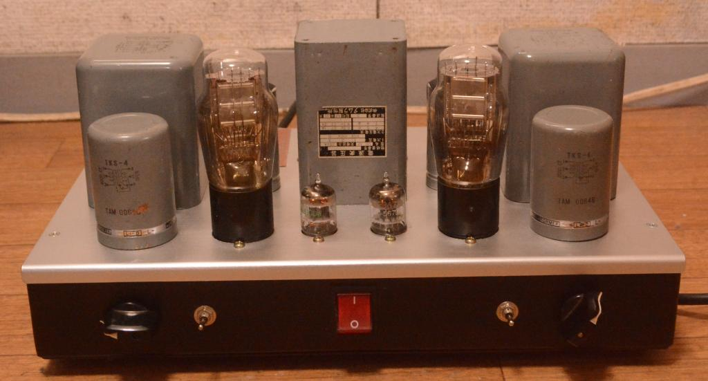 We396A-71A tube stereo headphone, line preamp, booster, amplifier * TAMURA trans