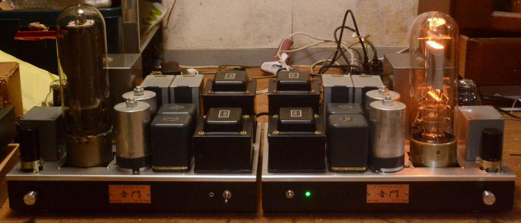 STC 4212 drive by 300B tube amplifier mono block x 2 * No tube included !!!