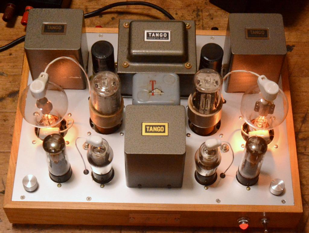 WE348-808 tube amplifier class A2, dynamic coupling * ALL TANGO transformer *  no tube included