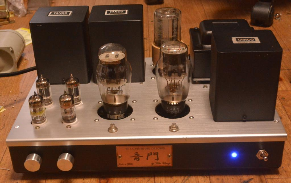 2A3 SE tube amplifier Audio Note Neiro type stereo tube amplifier with all Hirata TANGO