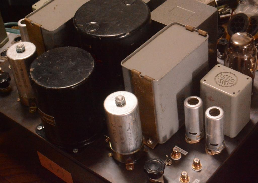 Special order made EL-156SE tube amp with UTC transformers