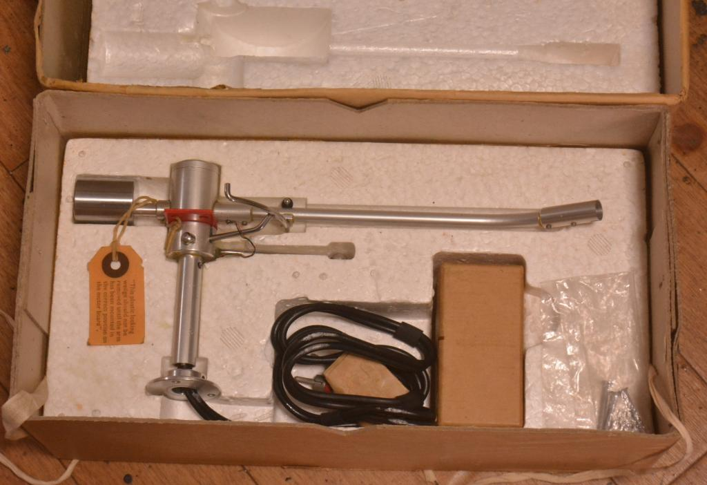 50s year EMI EPU-100 stereo tonearm with cartridge