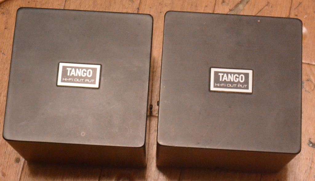 Pair Hirata TANGO FW-30-3.5S output transformer for 300B, PX-25, 2A3