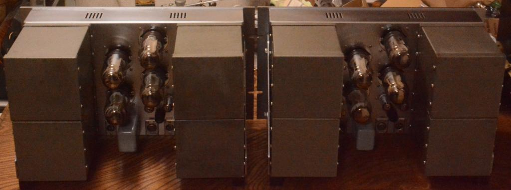Early LONGFIELD SL-ONE the monster EL-156 tube amp Para pushpull * ALL Peerless transformers