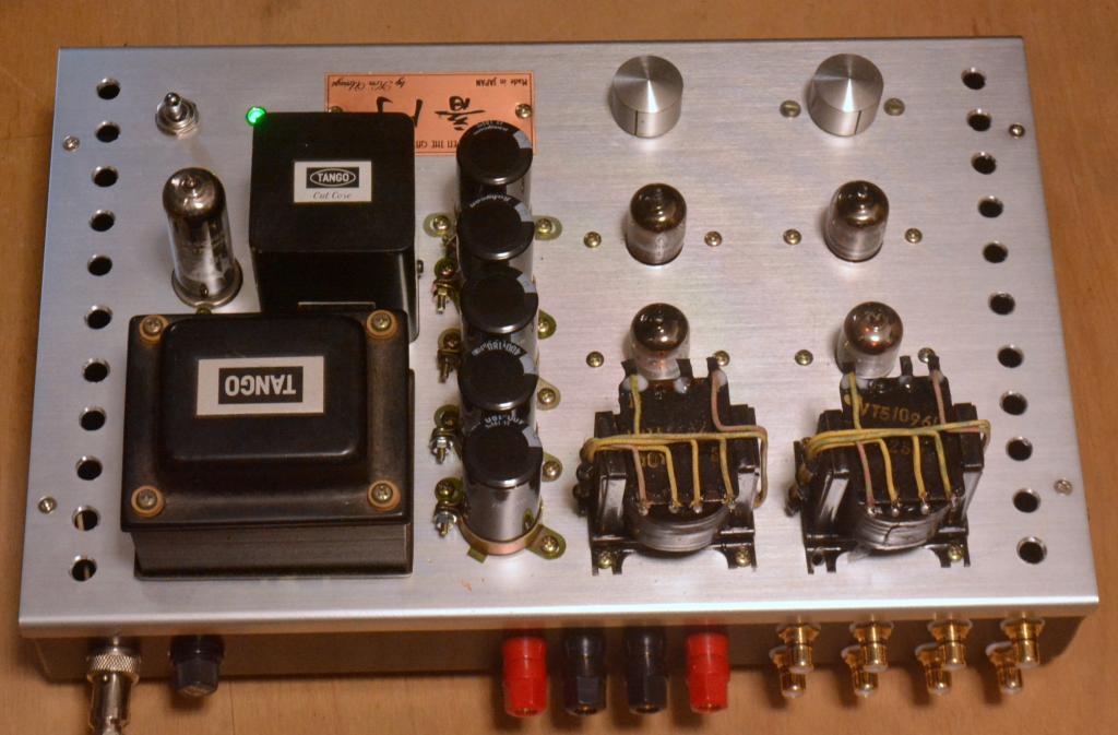 WE396A tube stereo preamp, booster, amplifier * PHILIPS output transformer