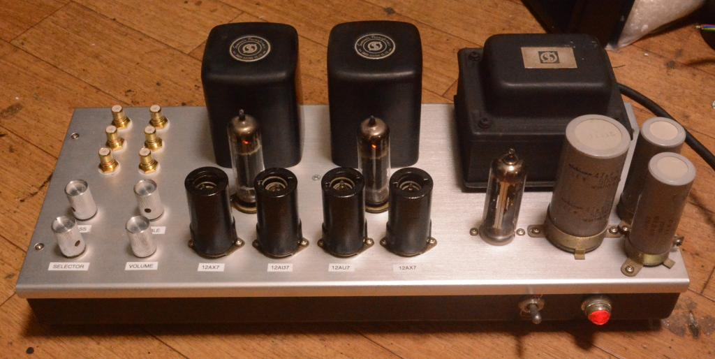 EL-84 SE tube amplifier amp with tone control 5W output