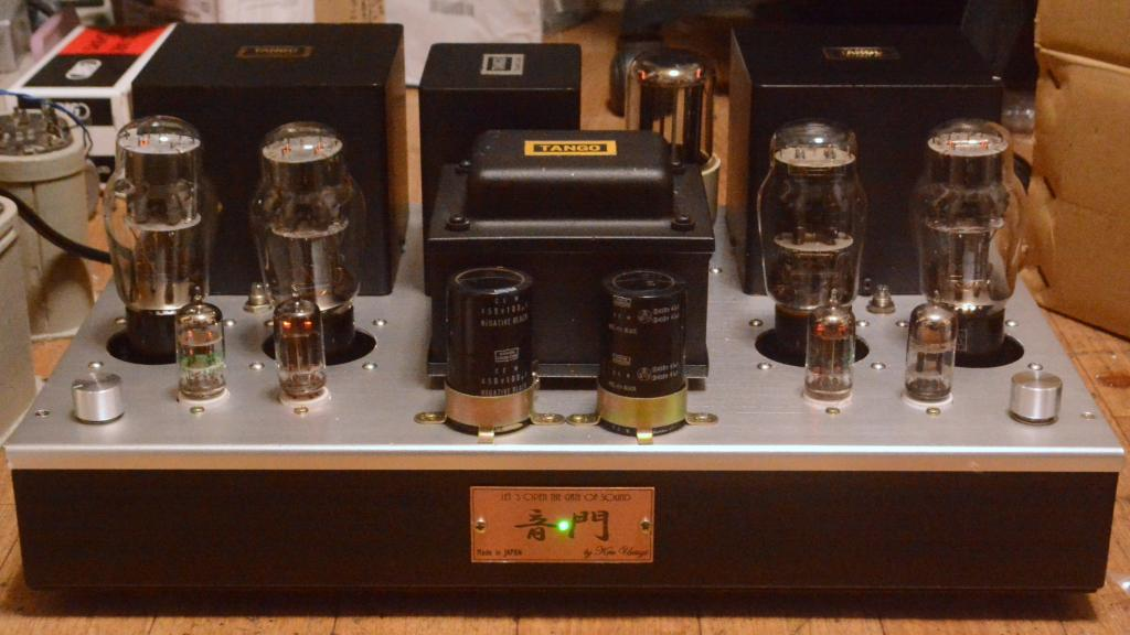 2A3 PSE tube amplifier with ALL Hirata TANGO special order made transformer