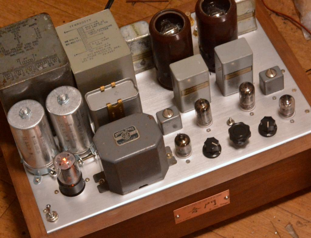 71A  SE tube amplifier with phono stage 396A * work as preamp or power amp 1W