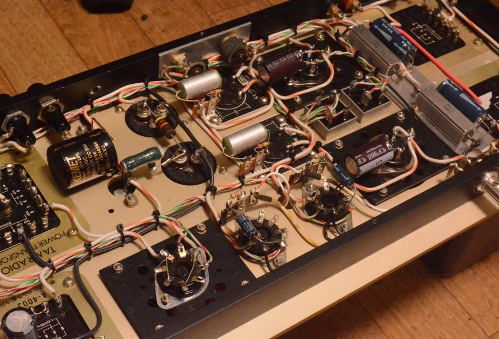 300B SE Western 91B type tube amplifier  TAMURA transformers & HIrata TANGO interstage transformer