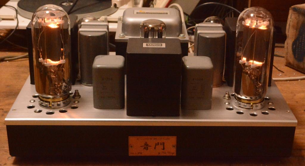 211 SE special order made amplifier with Hirata TANGO transformer 71A drive 211 class A2