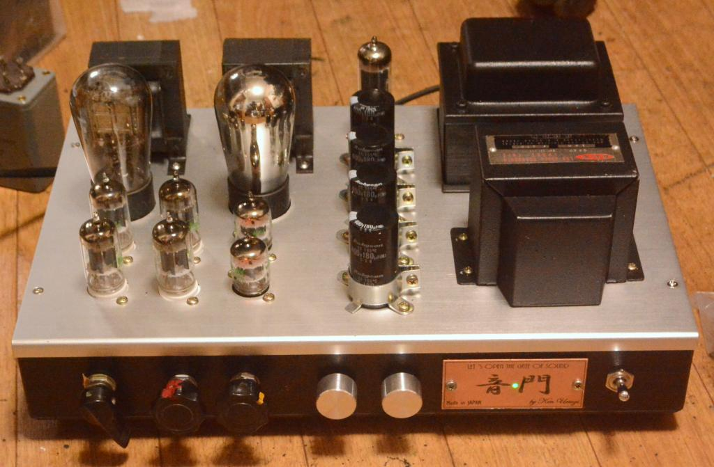 We396A-71A tube stereo headphone, line preamp, booster, amplifier with tone control