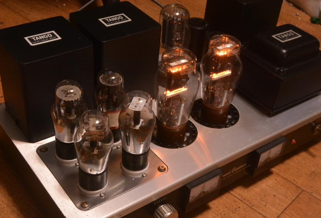 Sound Exprorer SL-770  VT-62/801 stereo tube amplifier ALL TANGO transformer