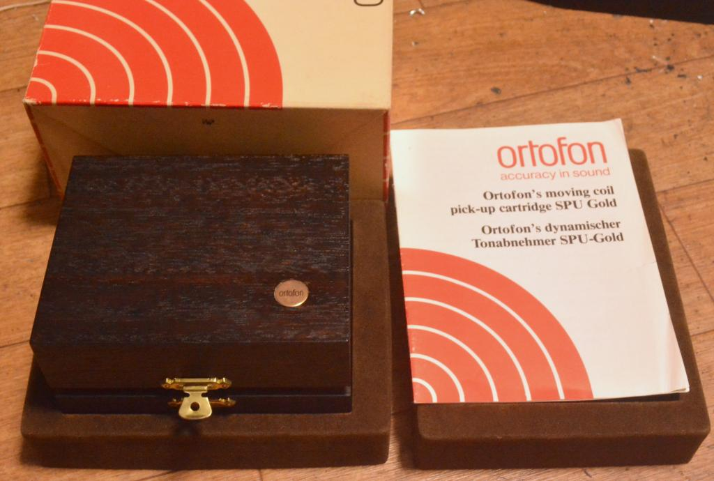 Ortofon SPU-G Gold Limited silver wire * Serial number: 1073