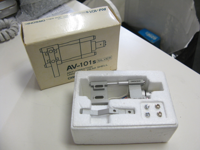 NEW in box Orsonic AV-101S headshell for MC cartridges