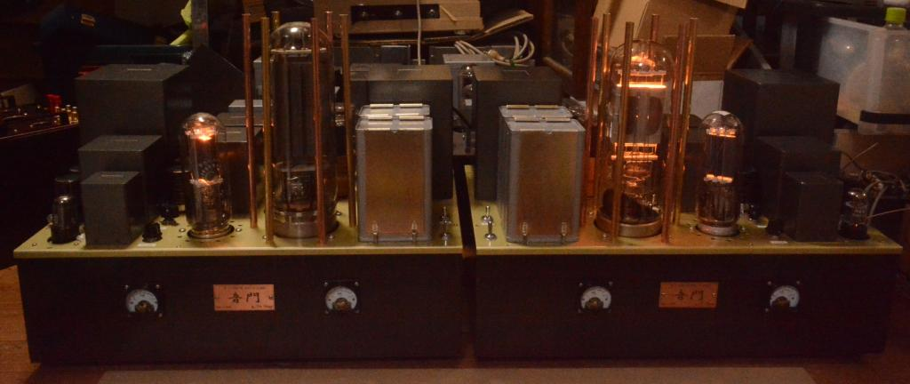 [ORDER MADE] STC 4212 drive by 211 tube amplifier mono block x 2 * No tube included !!!