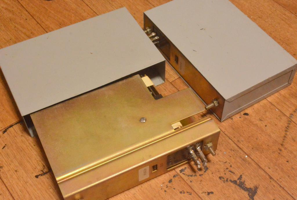 Western Electric LCR RIAA unit built by Okamoto Lab with WE parts