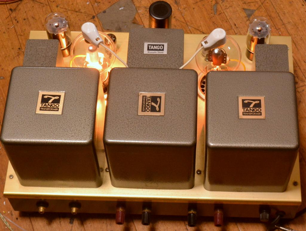 Final Art Model 808 MkII stereo tube amplifier Shishido IITC special order transformer