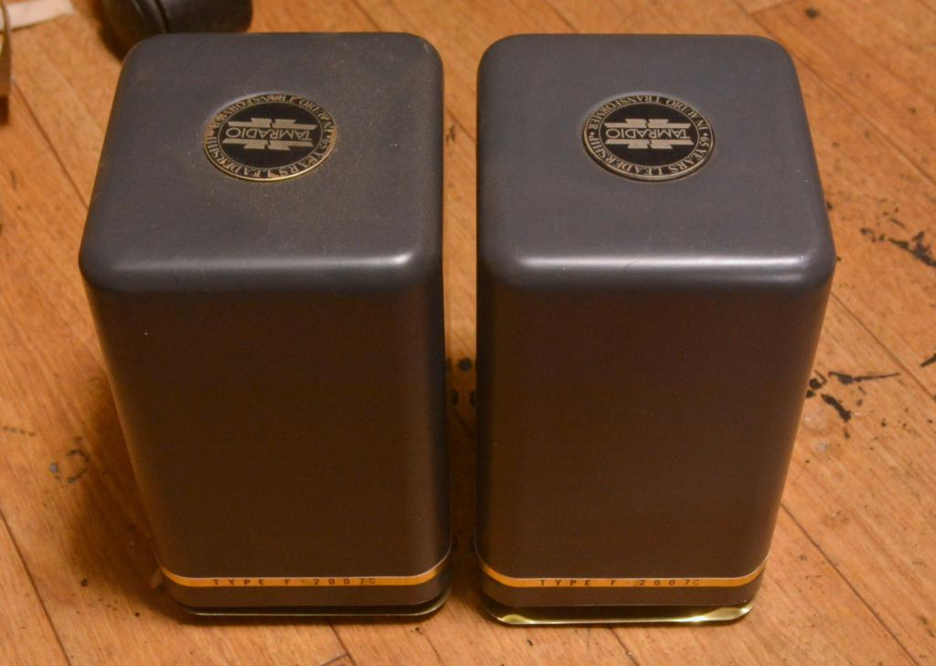 Pair Tamura F-2003 3K ohm for SE tube amp
