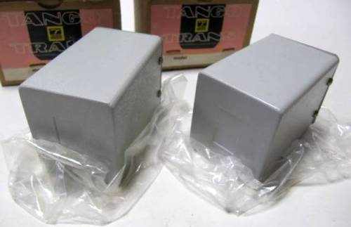 NEW Pair of early HIRATA TANGO interstage transformer NC-9 * Max DC 1000V 80mA