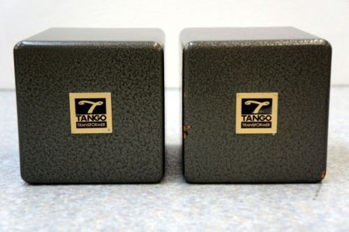 Pair Tango special order S-2110 transformer (X-2.7S) * The legend