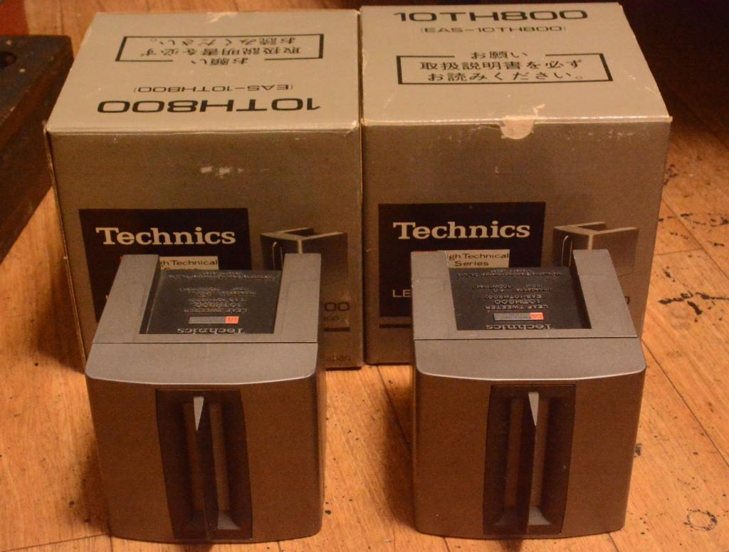 70s year Technics EAS 10TH800 Leaf super tweeter 3K~125K Hz