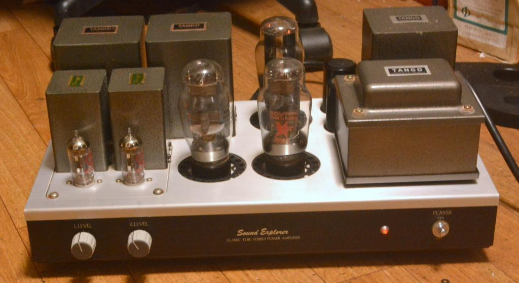Sound Exprorer 6B4G SE stereo tube amplifier with All Hirata TANGO transformers