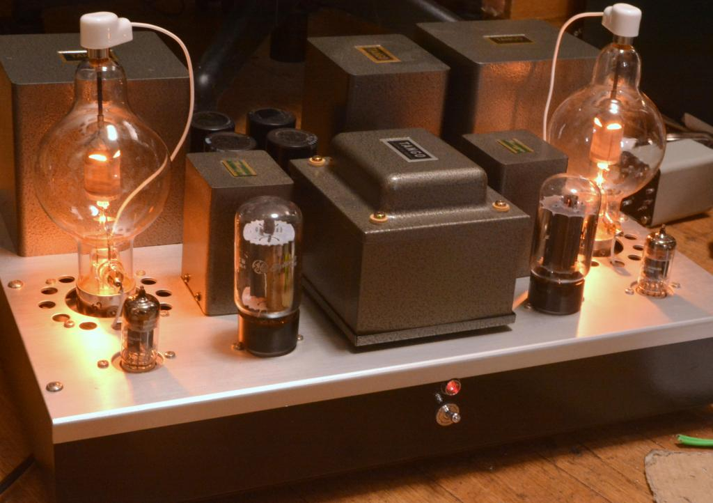 100th stereo tube amplifier Shishido IITC All Hirata TANGO XE-60-3SNF