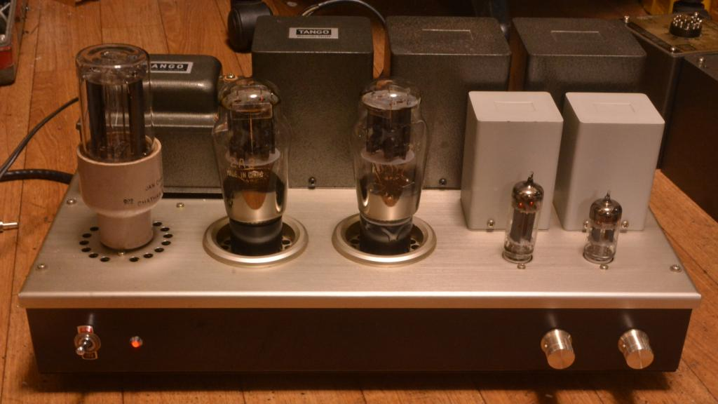 SANEI SA-602 2A3 tube stereo SE ampliier coupling by interstage trans* ALL Hirata TANGO transformers