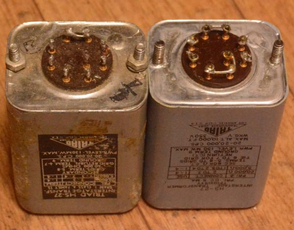 Early TRIAD HS-27 interstage transformer for tube amplifier
