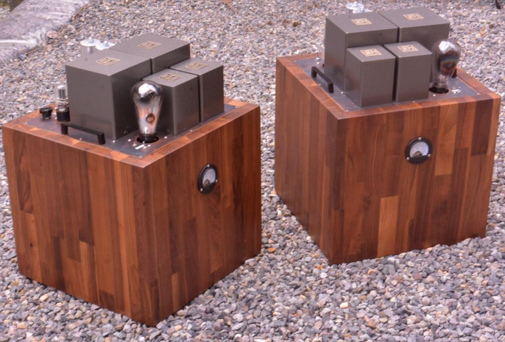 """The Tesseract"" 50 SE tube amplifier VT-62 drive 50 tube * class A2 10W"
