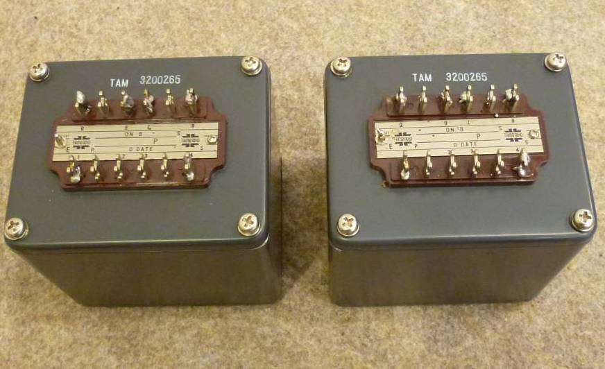 Details about  Pair TAMURA SIT152 interstage transformer special order by SAKUMA * 5K/60mA