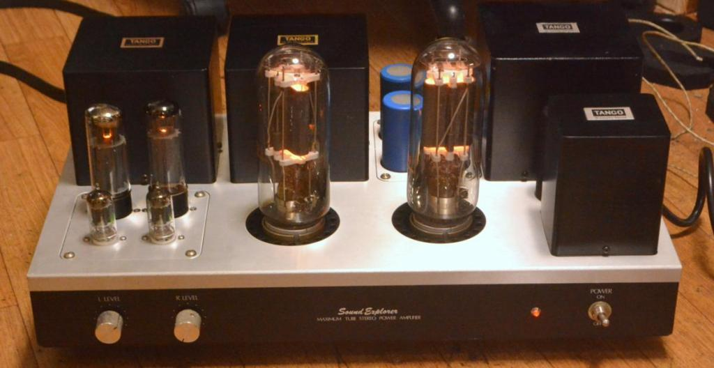 Sound Exprorer SL-990 211 SE stereo tube amplifier ALL TANGO transformers