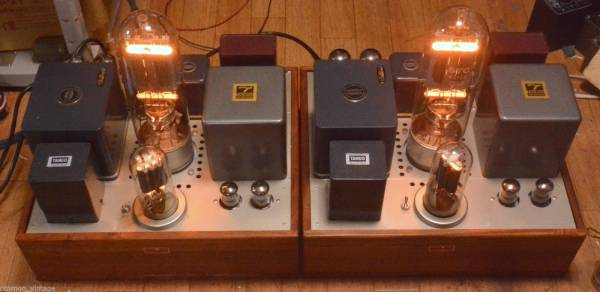 Valve World STC 4212 drive by 211 tube amplifier mono block x 2