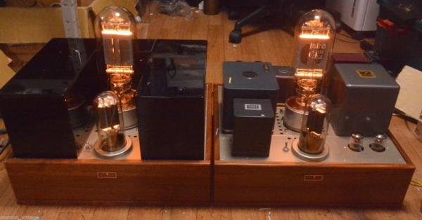 Valve World STC 4212 drive by 211 tube amplifier mono block x 2 * No tube included !!!