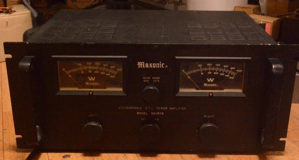 Maxonic MA-151G OTL limited edition tube amplifier