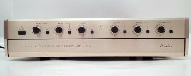 Accuphase F-15 channel divider network for 2,3 ways