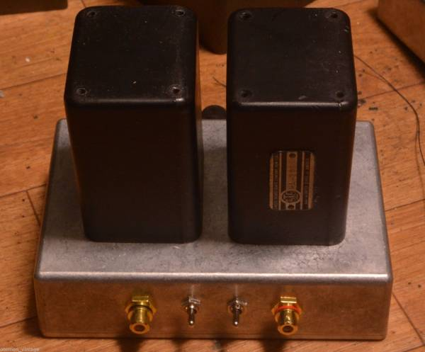Early UTC HA-101X step up, input transformer for MC cartridge * Hyper permalloy core !