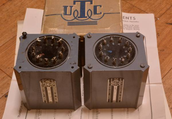 Early UTC LS-12 step up, input transformer same as Triad HS-1 for MC cartridge