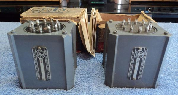 Early New old Stock UTC LS-39 step up, input transformer for MC cartridge