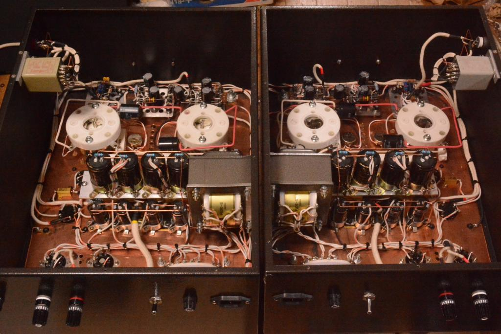 211 PSE tube amplifier * Hirata TANGO X-5S OPT, 35W output