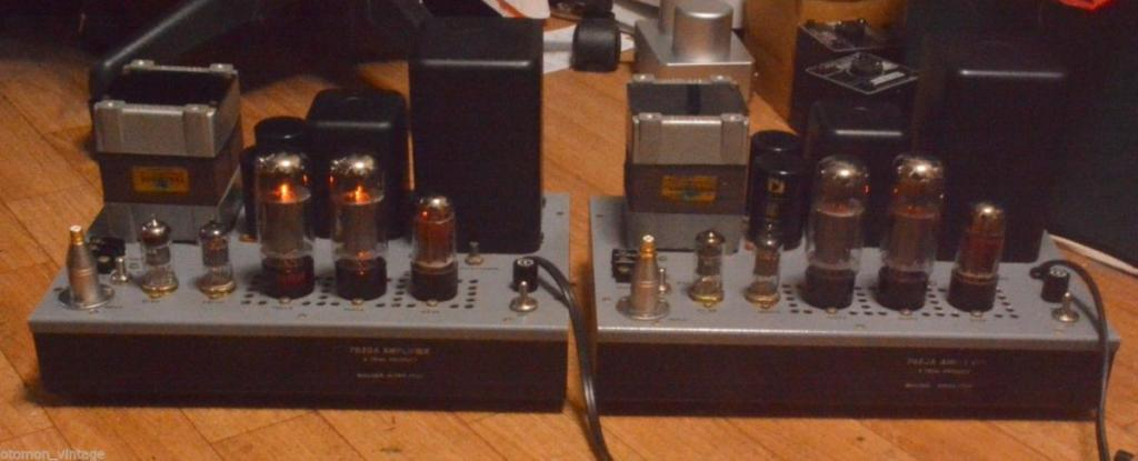 Itoh Kitao 7027A tube power amplifier with Partridge transformer Limited only 2 sets made