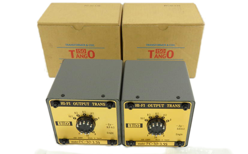 NOS pair TANGO FC-30-3.5S output transformer for 300B, PX-25, 2A3